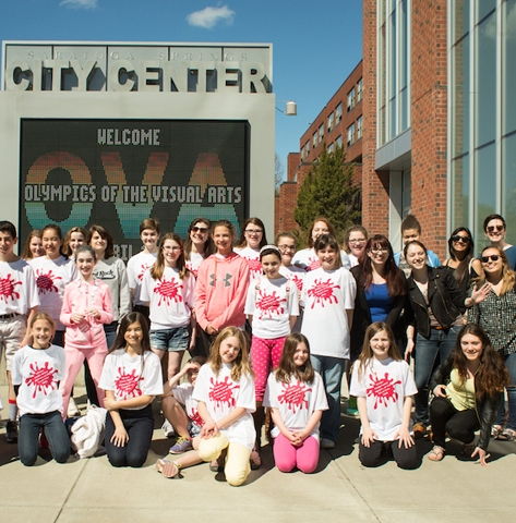 Art Mentor Program Creates Win-Win for Wellin Museum and Clinton School